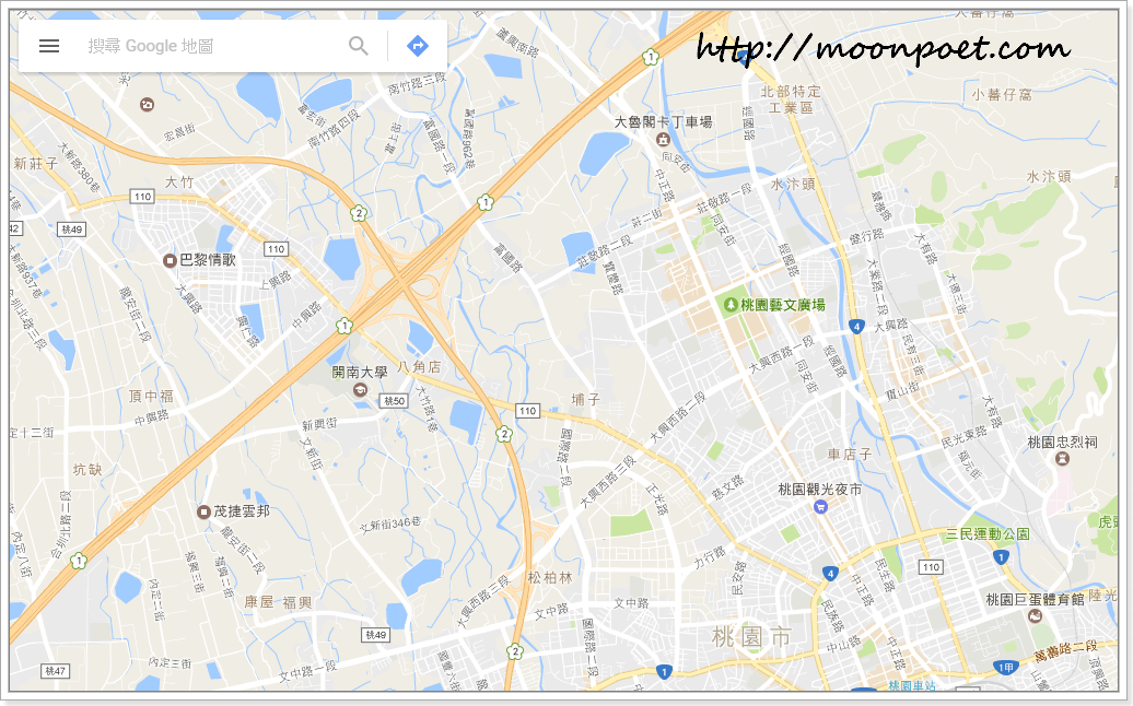 Google map離線地圖下載 - 用Wifi先下載在外使用免上網