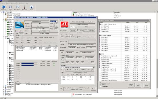 電腦硬體資訊顯示工具 HWiNFO64 3.94