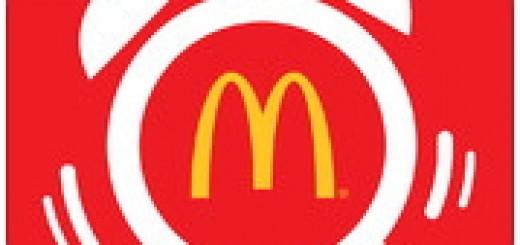 麥當勞早安鬧鐘 只要設定鬧鐘就能拿優惠券